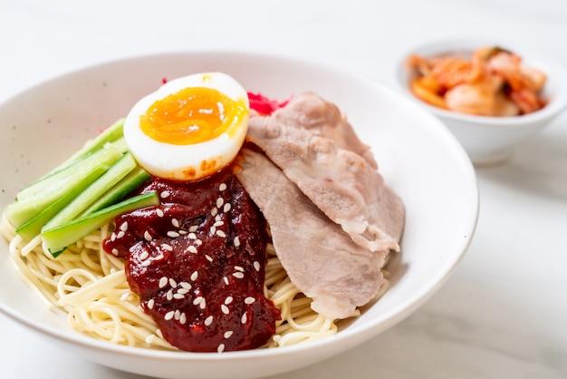 Spaghetti freddi coreani