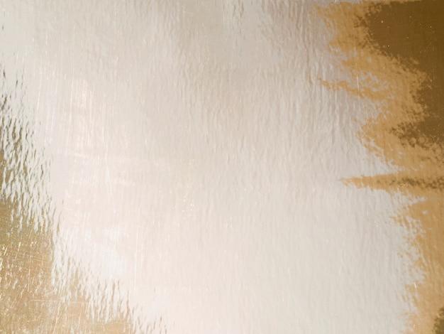 Spazio della copia del fondo e particelle di oro