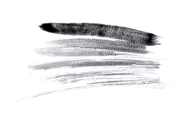 Spazio nero astratto della spruzzata della vernice dell'acquerello. spruzzata dell'acquerello nero isolato su bianco
