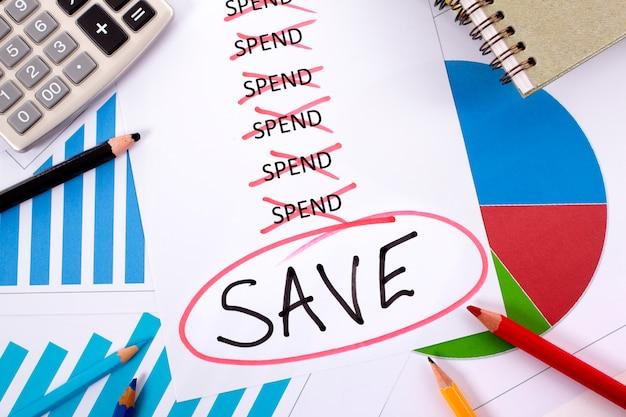 Spesa e salvataggio del messaggio