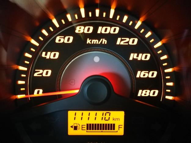 Spettacolo di numeri fortunati sulla macchina del gade mile