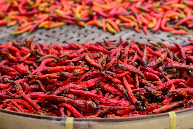 Spezie - peperoncino secco peperoncino rosso piccante