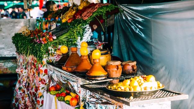 Spezie sul mercato a marrakech