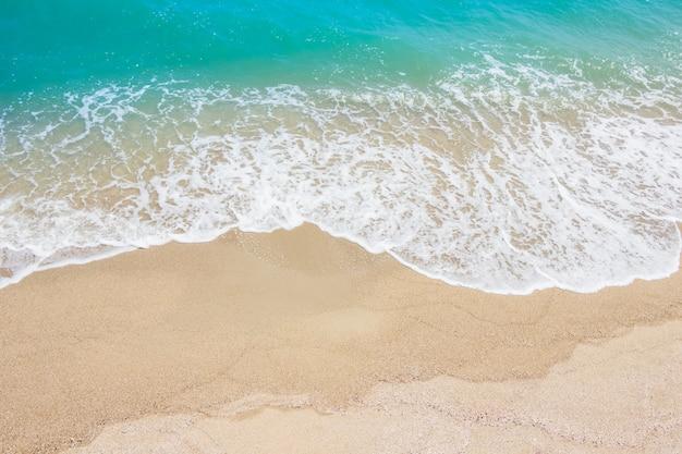 Spiaggia del mare in estate