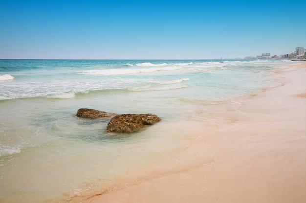 Spiaggia di cancun, in messico