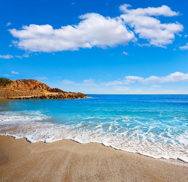 Spiaggia di cullera platja del far playa del faro valencia