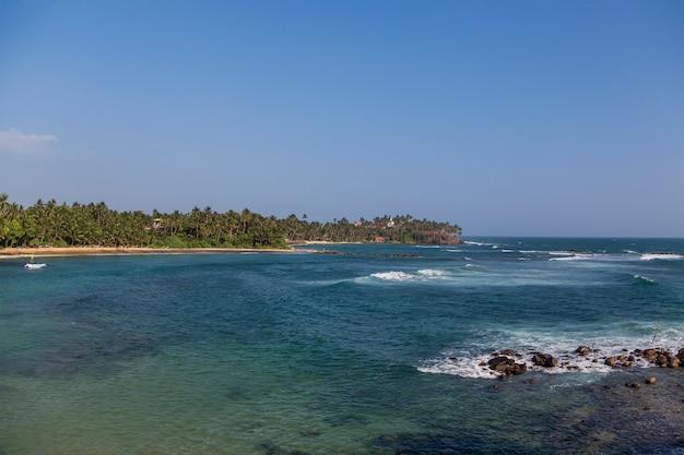 Spiaggia di mirissa, sri lanka