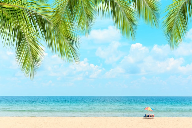 Spiaggia di phuket, tailandia