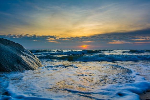 Spiaggia di prima mattina
