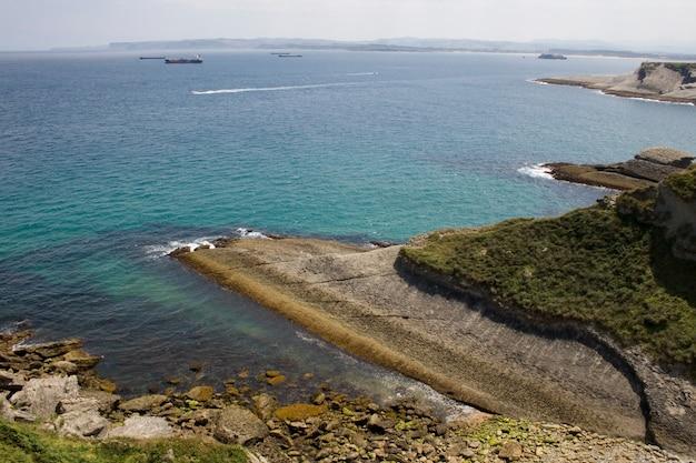 Spiaggia di santander, cantabrian sea