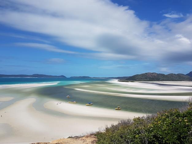 Spiaggia di whitehaven - tropical beach paradise