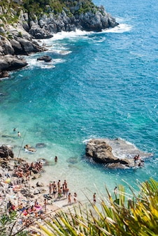 Spiaggia francesi, mongerbino, sicilia