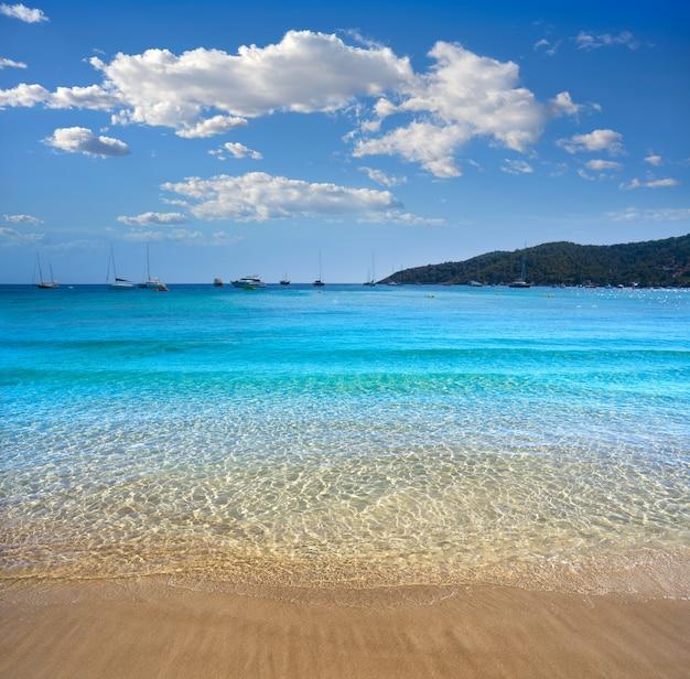 Spiaggia ibiza playa ses salines es cavallet