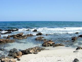 Spiaggia nelle isole canarie