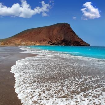 Spiaggia playa de la tejita a tenerife