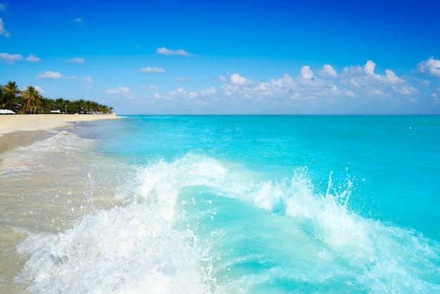 Spiaggia playa del carmen in riviera maya