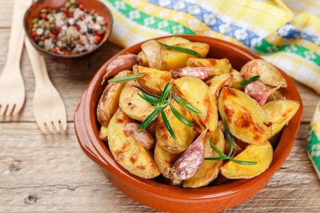 Spicchi di patate