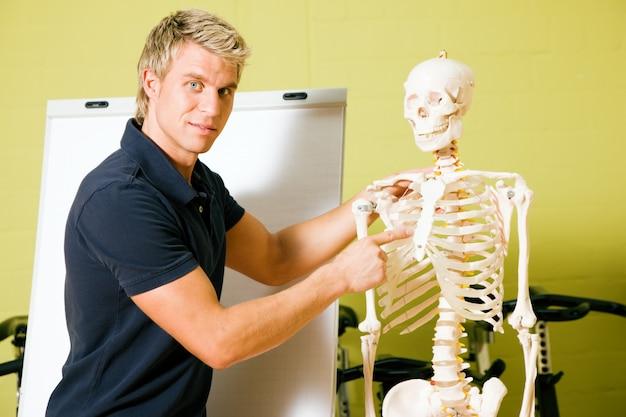 Spiegando l'anatomia di base in palestra