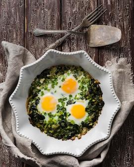 Spinaci e uova
