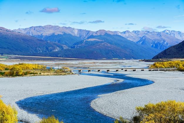 Splendido scenario del parco nazionale del passo di arthur