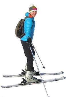 Sport, sport, sci in inverno sci sciatore palestra