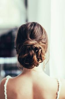 Sposa in abito da sposa