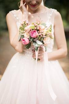 Sposa per il suo giorno di nozze