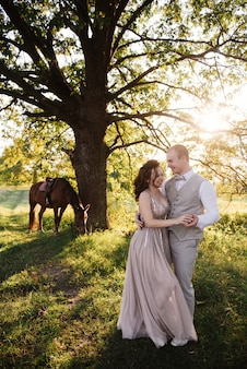 Sposi nella foresta
