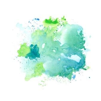 Spruzzata acquerello astratto colorato