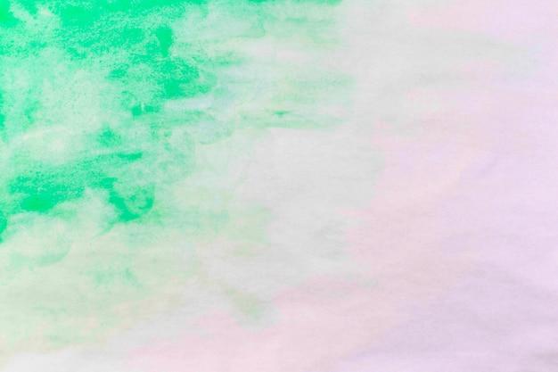 Spruzzata di smeraldo acquerello