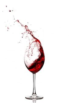 Spruzzata di vino rosso