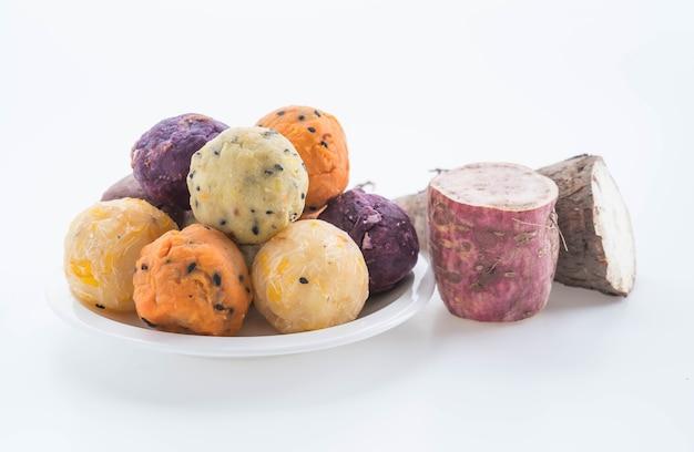 Spuntino delle palle di patate