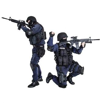 Squadra swat in azione