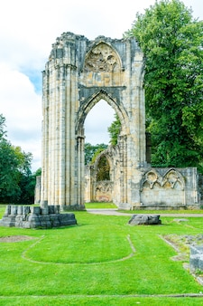St. mary's abbey a york city in inghilterra