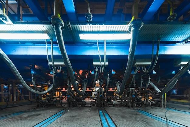 Stabilimento di produzione, macchinari per l'industria pesante