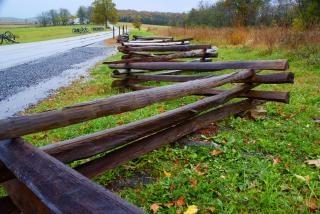 Staccionata in legno, gettysburg