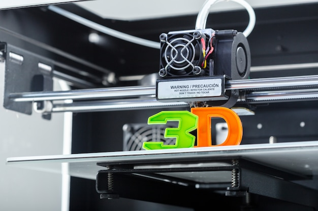 Stampa 3d in corso