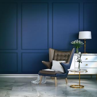 Stanza blu classica