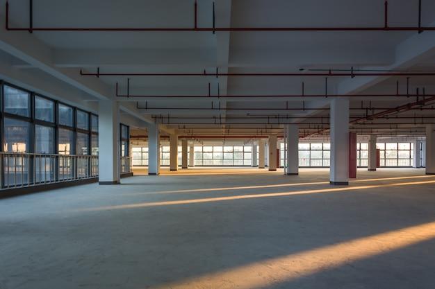 Stanza vuota in un edificio