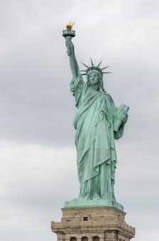 Statua della libertà, new york city, stati uniti d'america