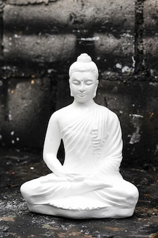 Statua di buddha in meditazione