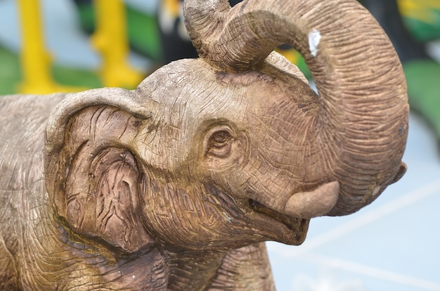 Statua di elefante per goodluck