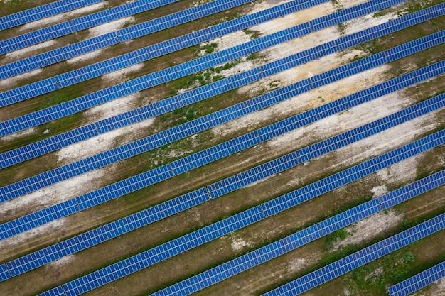 Stazione della batteria solare.