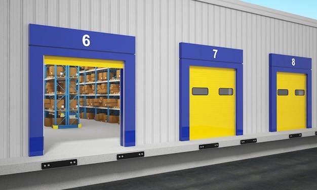 Stazione di servizio del magazzino