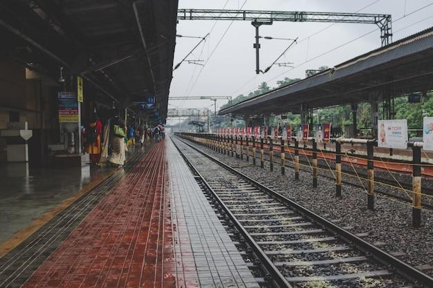 Stazione ferroviaria indiana