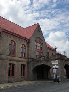 Stazione ferroviaria - vintage
