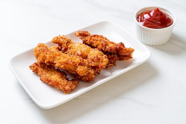 Stecca di pollo fritto