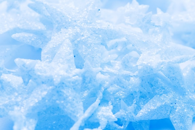Stelle di ghiaccio