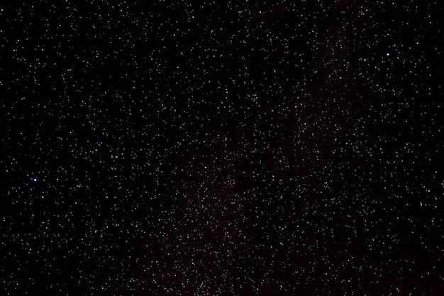 Stelle e galassia dello spazio cosmico sullo sfondo del cielo