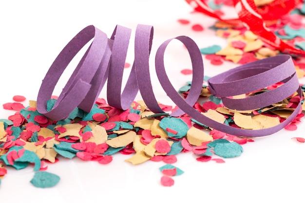 Stelle filanti colorate miste